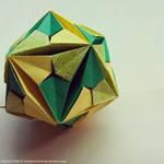 Modular Origami (Inverted Andromeda)
