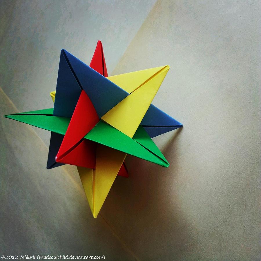 Modular Origami (WXYZ) by MadSoulChild