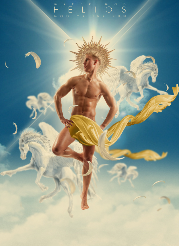 Helios Greek God Of The Sun By Urbandesing On Deviantart