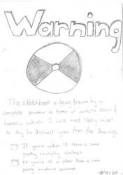 Sketchbook Project Disclaimer