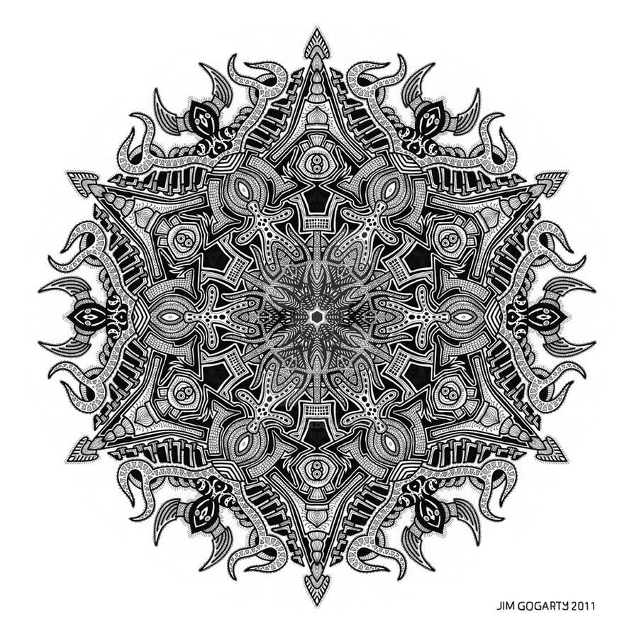 Mandala drawing 3 by Mandala-Jim