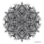 Mandala drawing 3