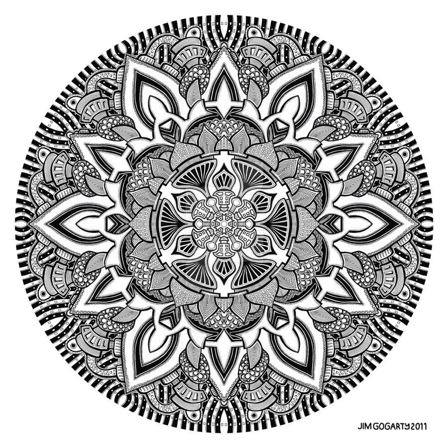 mandala drawing 10 by mandala jim on deviantart. Black Bedroom Furniture Sets. Home Design Ideas