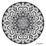 Mandala drawing 12