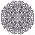 Mandala drawing 23