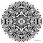 Mandala drawing 25