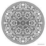 Mandala drawing 26