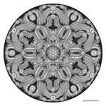 Mandala drawing 28