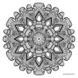 Mandala drawing 29