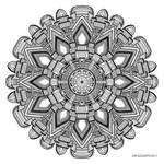 Mandala drawing 29