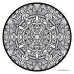 Mandala drawing 33