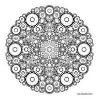 Mandala drawing 37