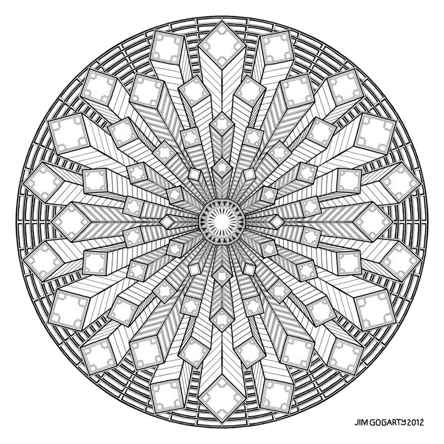 mandala drawing 38 by mandala jim on deviantart. Black Bedroom Furniture Sets. Home Design Ideas