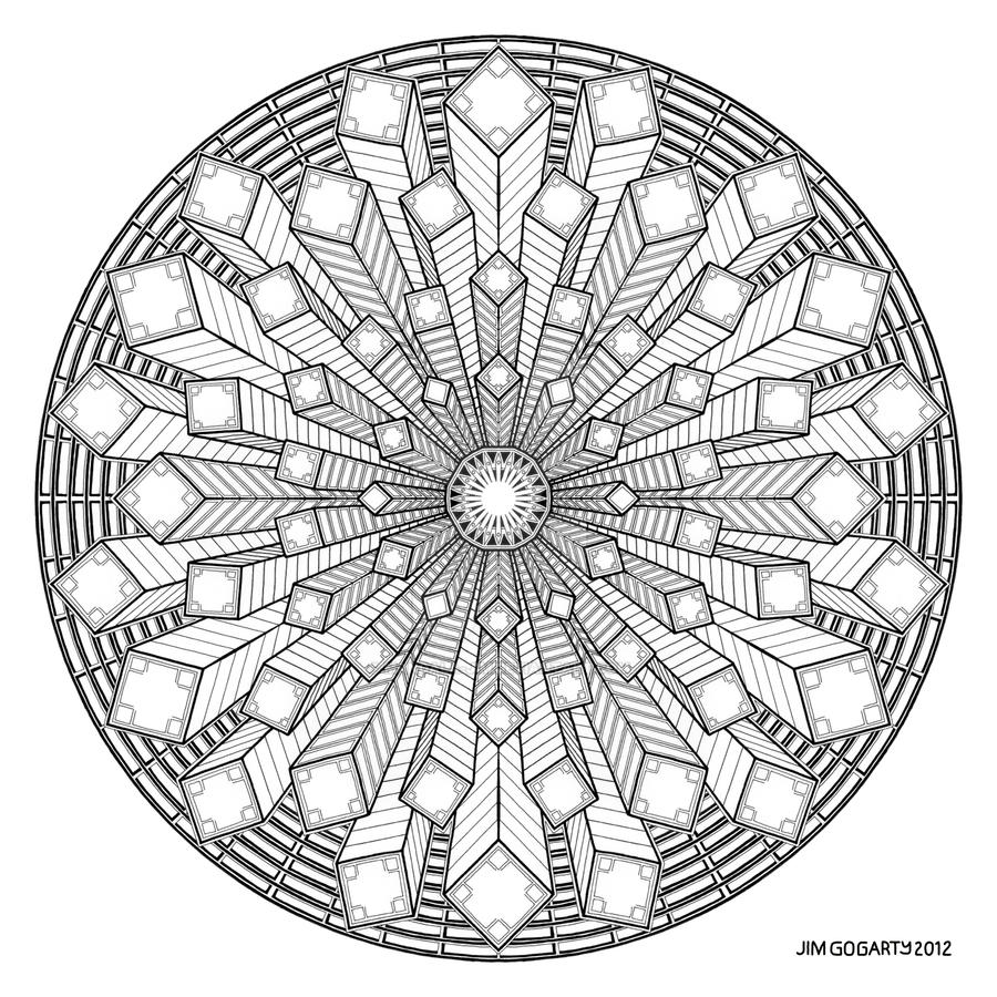 Mandala Drawing 38 By Mandala Jim On Deviantart
