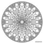 Mandala drawing 38