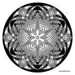 Mandala drawing 40