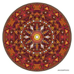 Mandala 44 coloured 1.0