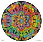 Mandala drawing 31 - Collaboration