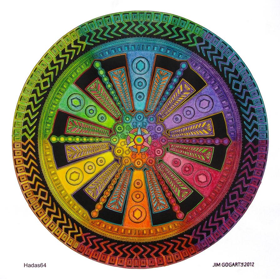 Mandala drawing 43 - Collaboration by Mandala-Jim