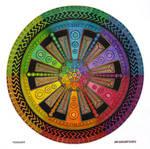 Mandala drawing 43 - Collaboration