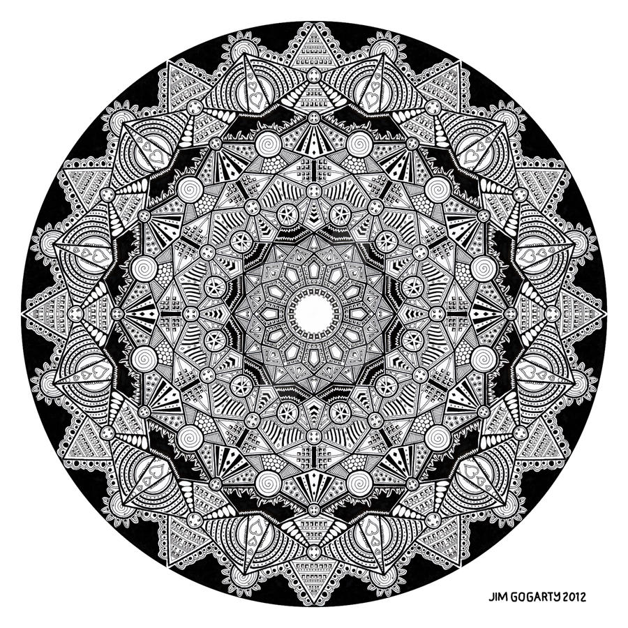 Mandala drawing 46 by Mandala-Jim