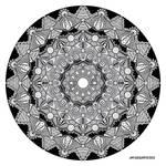 Mandala drawing 46