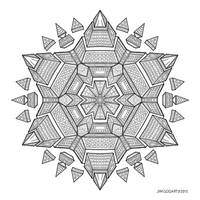 Mandala drawing 51