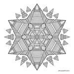 Mandala drawing 51