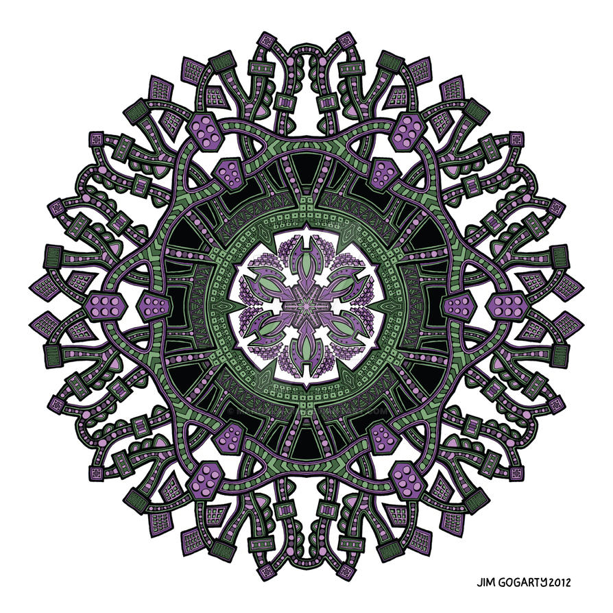 Mandala 55 colour v1 by Mandala-Jim