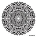 Mandala drawing 59