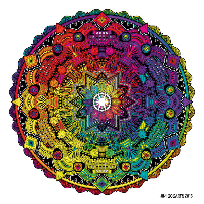Time Dilation by Mandala-Jim