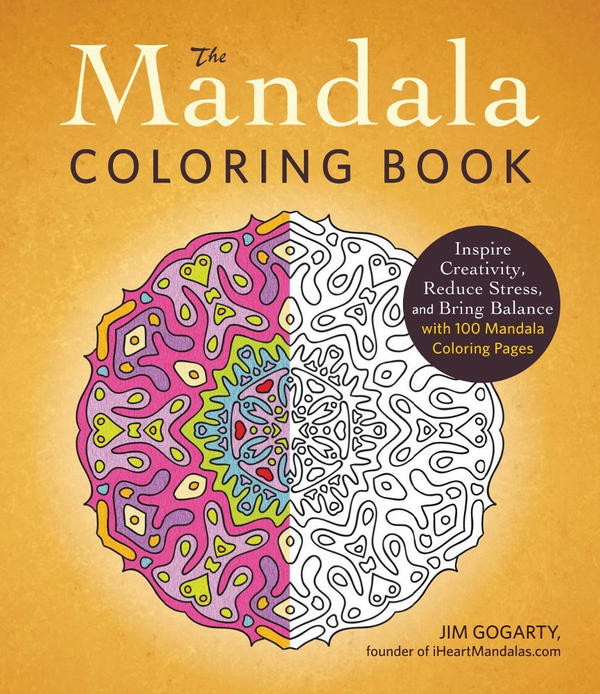 MY ORIGINAL MANDALA COLORING BOOK by Mandala-Jim