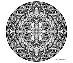 Mandala 62 - July by Mandala-Jim