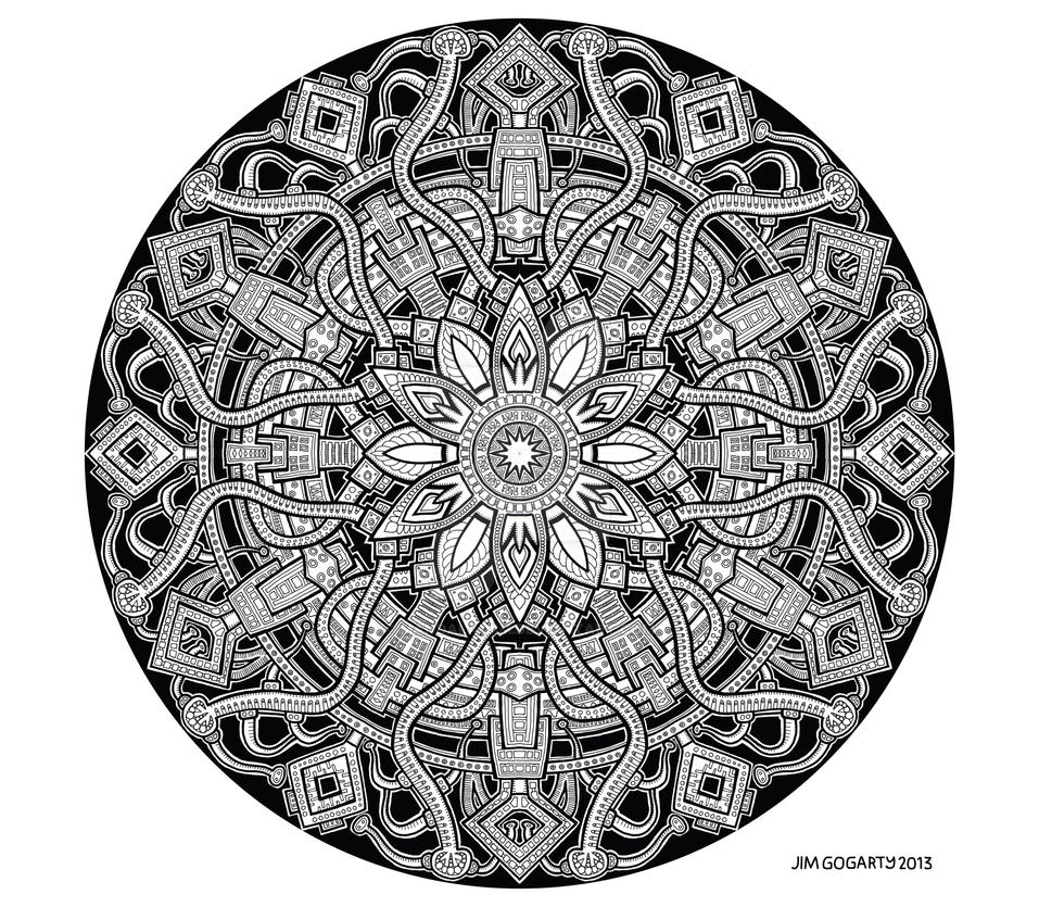 Image Result For Buddhist Mandala Coloring