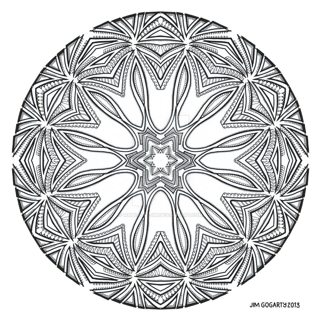 The mandala coloring book jim gogarty -  Molecule 71 By Mandala Jim