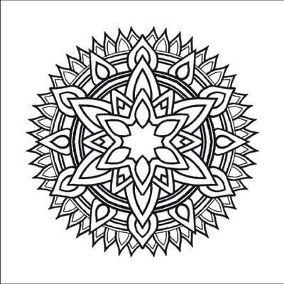 Image Result For Kaleidoscope Coloring Pages