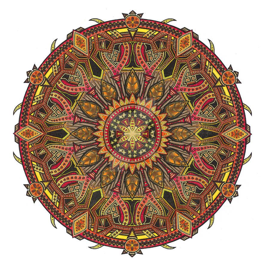 eBook colouring 2 by Mandala-Jim