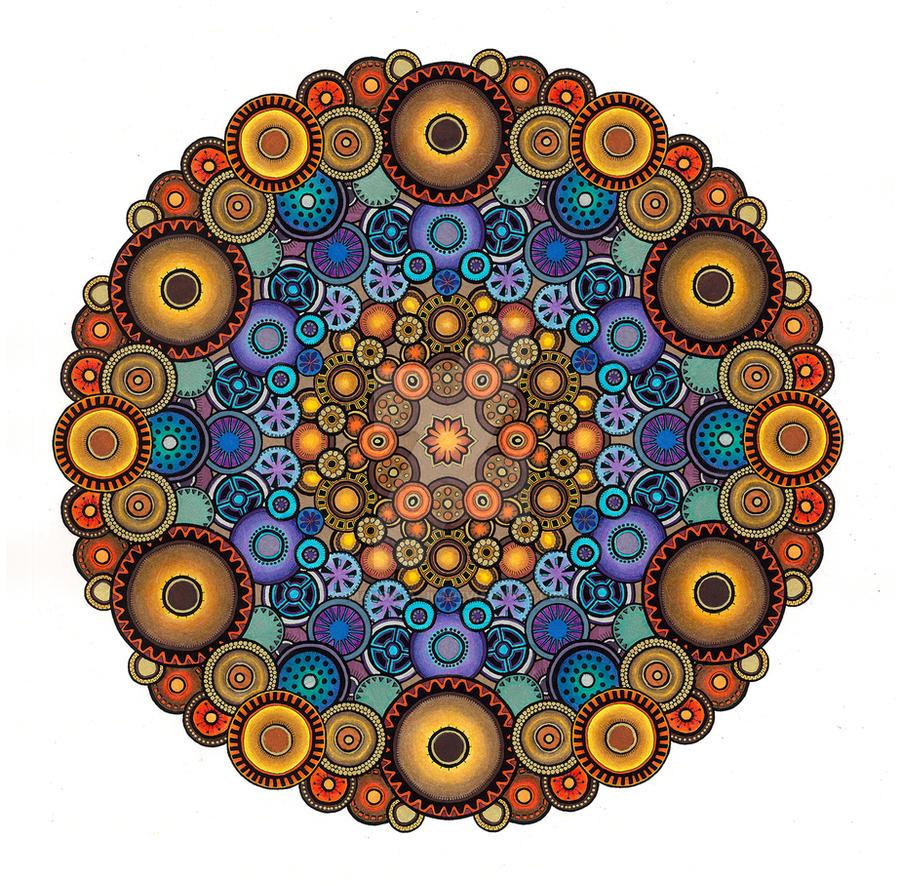 eBook colouring 3 by Mandala-Jim