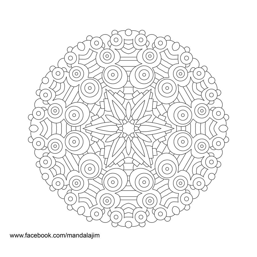 Line Drawing Mandala : Free mandala line art day of by jim on deviantart