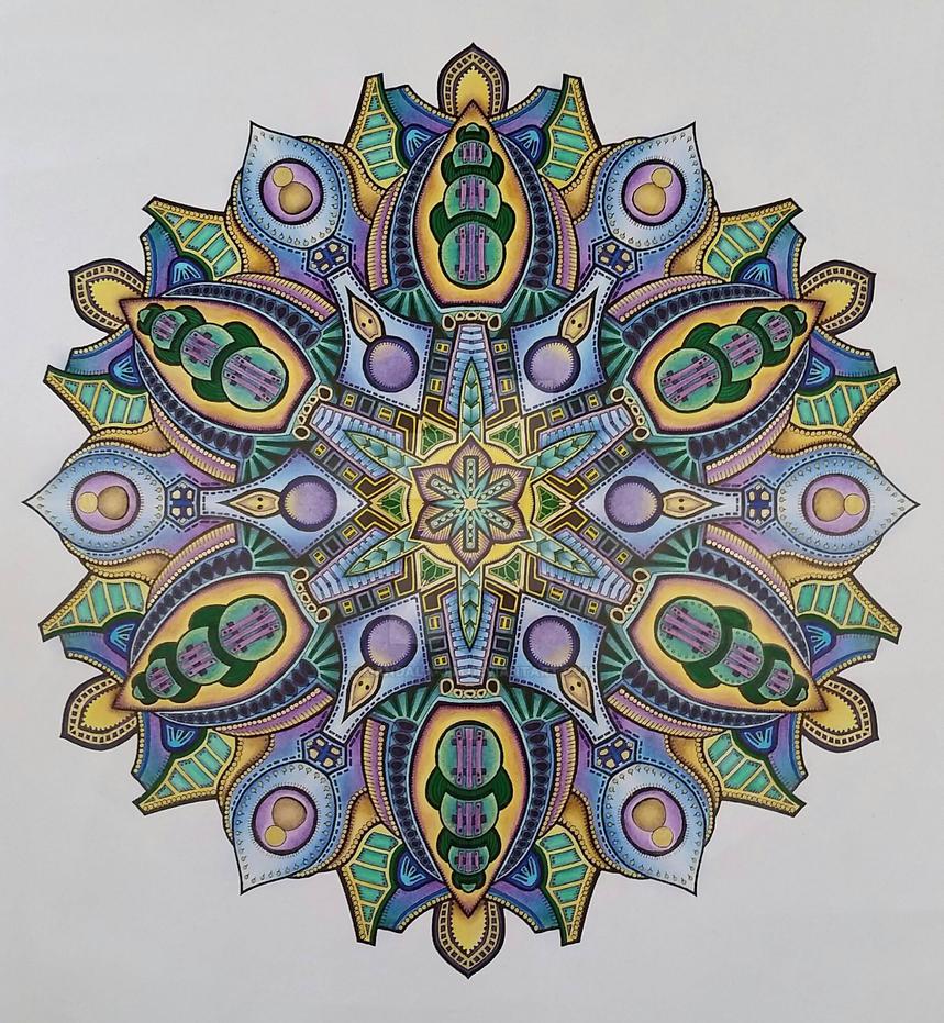 Collaboration with Gavin Davies by Mandala-Jim
