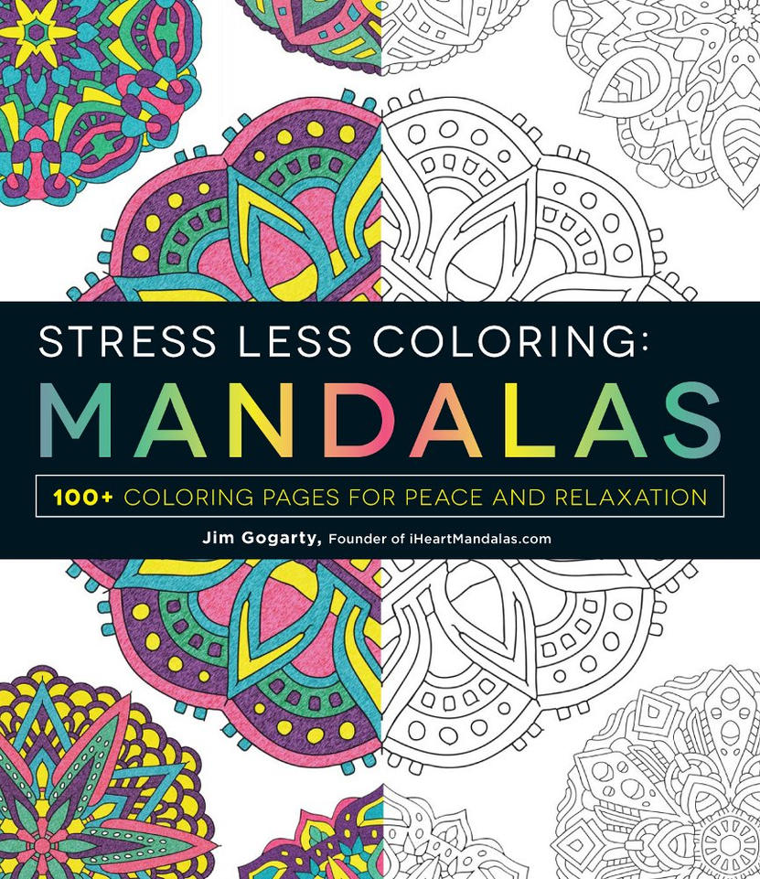 Stress Less Coloring Mandalas Available NOW! by Mandala-Jim