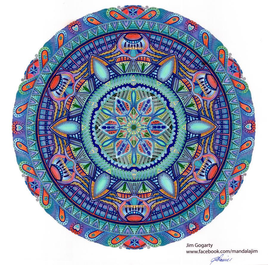 Entity #7 by Mandala-Jim