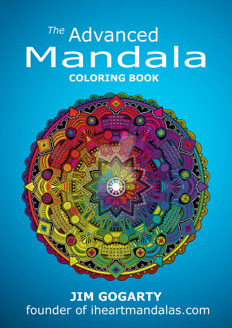 The Advanced Mandala Coloring Book Video Review by Mandala-Jim