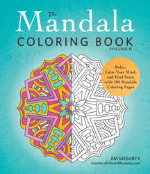 The Mandala Coloring Book Volume 2