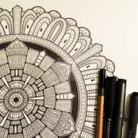Advanced Mandala Colouring Book Vol 2 - Pic 2 / 2