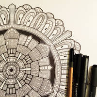 Advanced Mandala Colouring Book Vol 2 - Pic 2 / 2