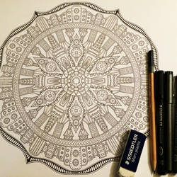 Image 17 / 35 for Advanced Mandala Coloring Vol 2