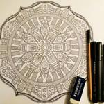 Image 17 / 35 for Advanced Mandala Coloring Vol 2 by Mandala-Jim
