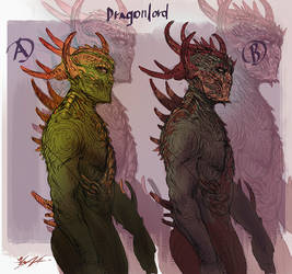 dragon lord sketches by yonax