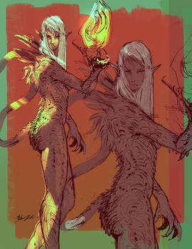Dragon Lady sketch
